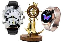 Часы, аксессуары, сувениры