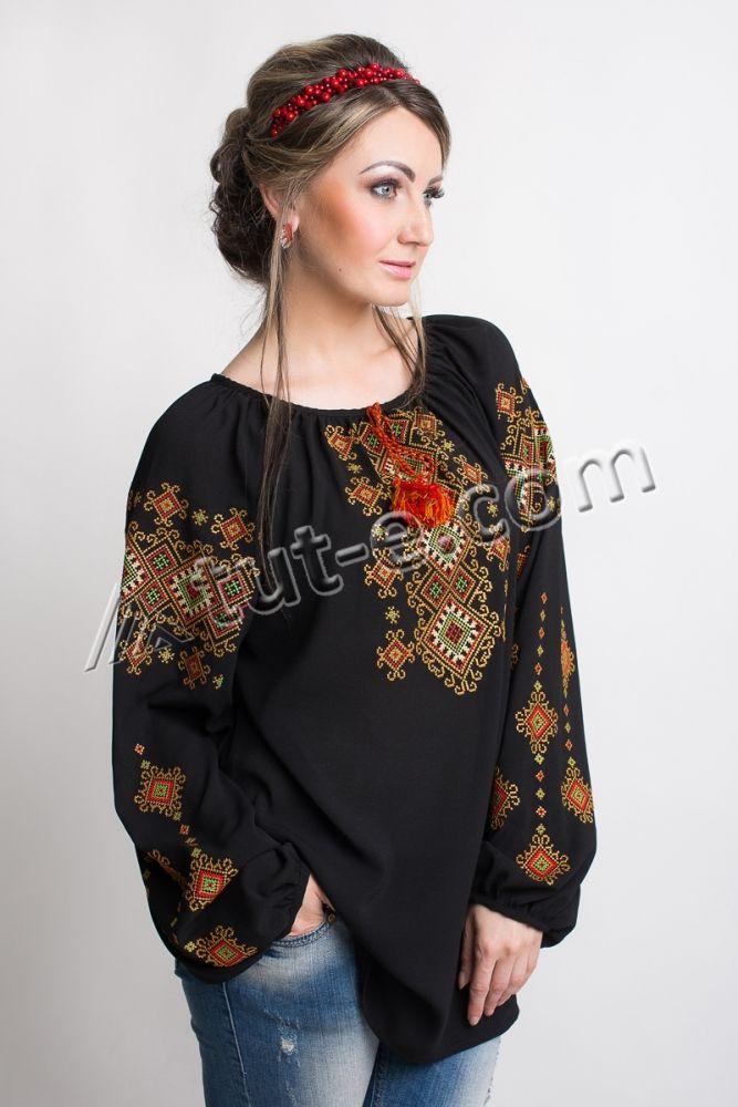 Блуза женская гуцулка - Изображение 3