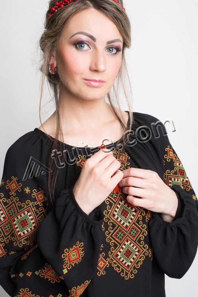 Блуза женская гуцулка - Изображение 4