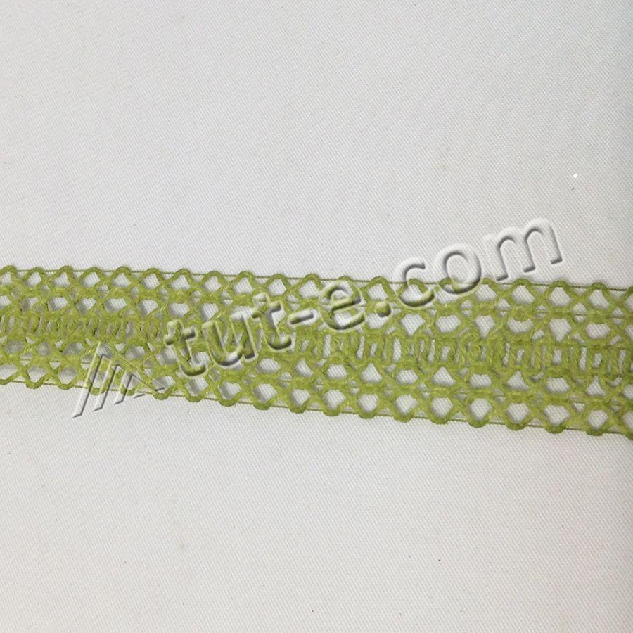 Лента ажурная оливковая 2,5см-10м - Изображение 2