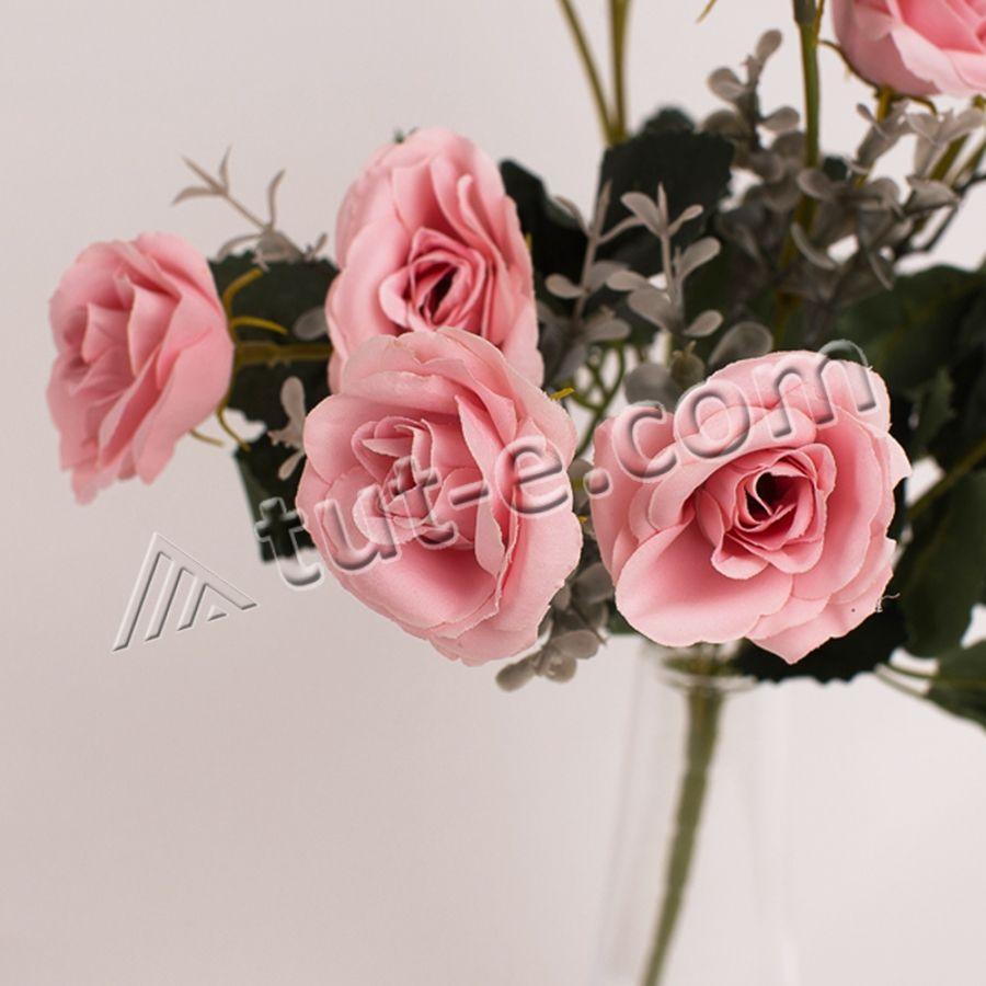 Букет мелких розочек розовый - Изображение 2