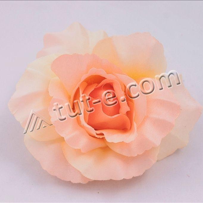 Головка роза ШОПЕН персиковая