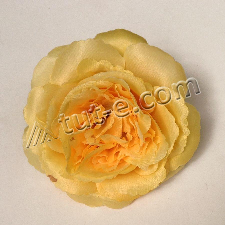 Головка розы МЭРИ желтая