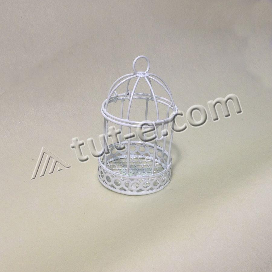 Маленькая клеточка для декора 5,5х9см