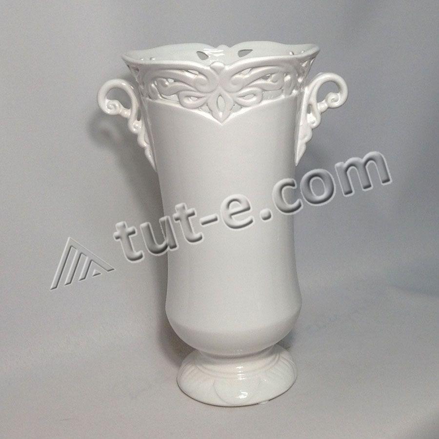 Ваза-кашпо керамическая 27х14см
