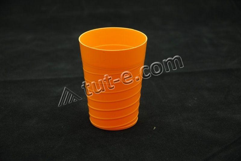 Стакан 300 мл (цв.оранжевый)