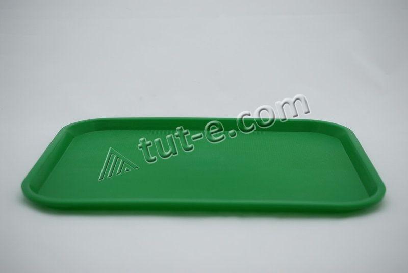 Поднос 445х350 (цв.зеленый)
