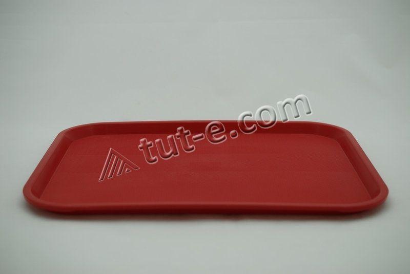 Поднос 445х350 (цв.красный)