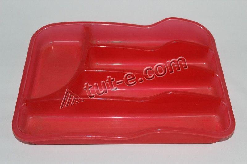 Вкладыш для столовых приборов (цв.красный)