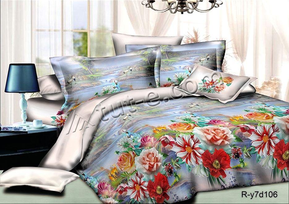 комплект постельного белья ранфорс ер-106ab