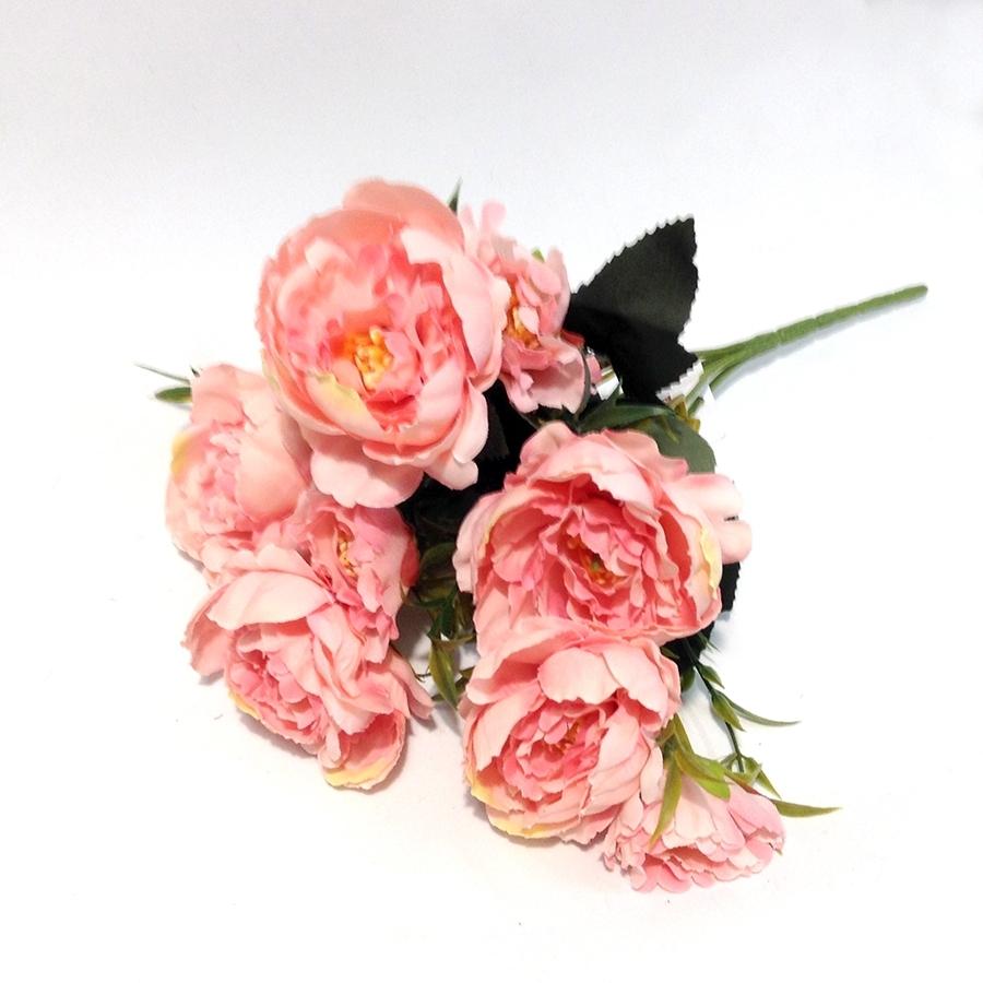 Букет пиончиков розовый