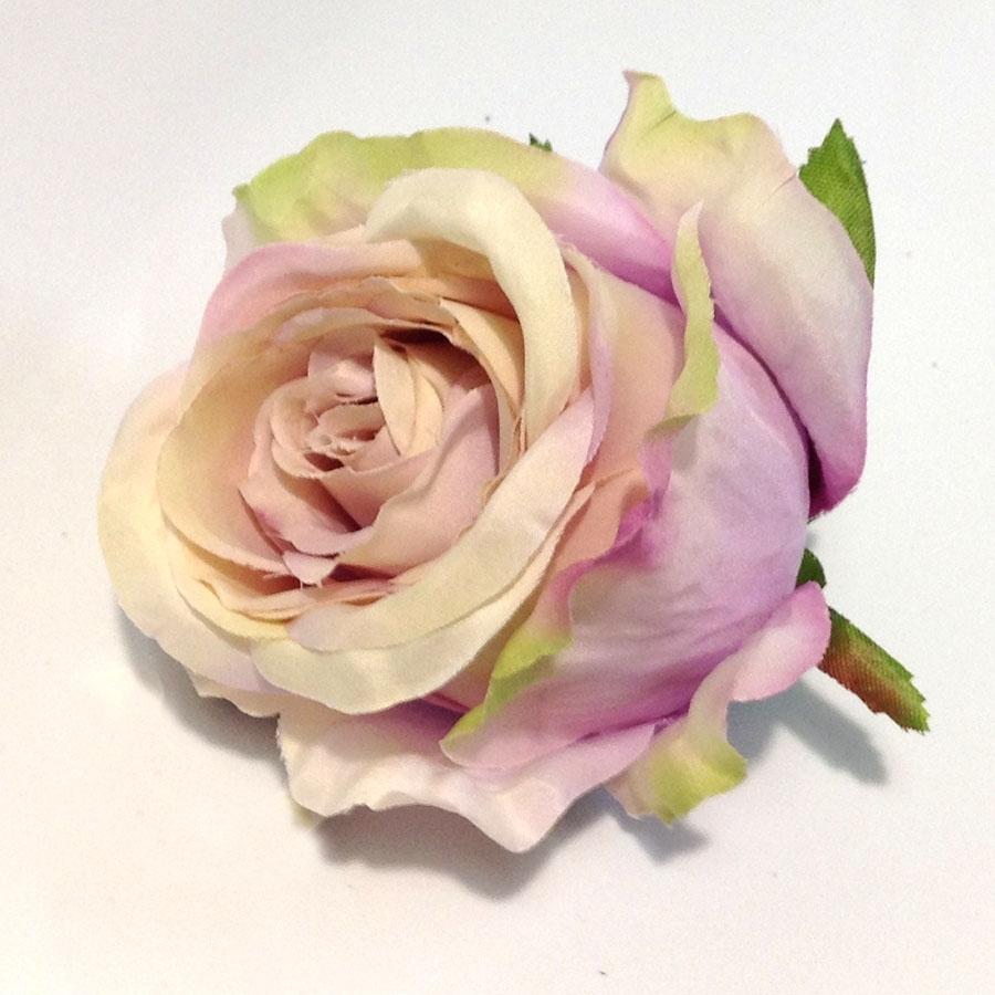 Головка розы КАРДИНАЛ сиреневый пепел