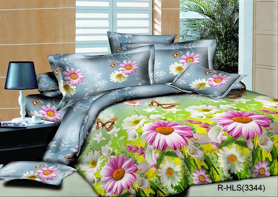 комплект постельного белья полисатин опс-3344