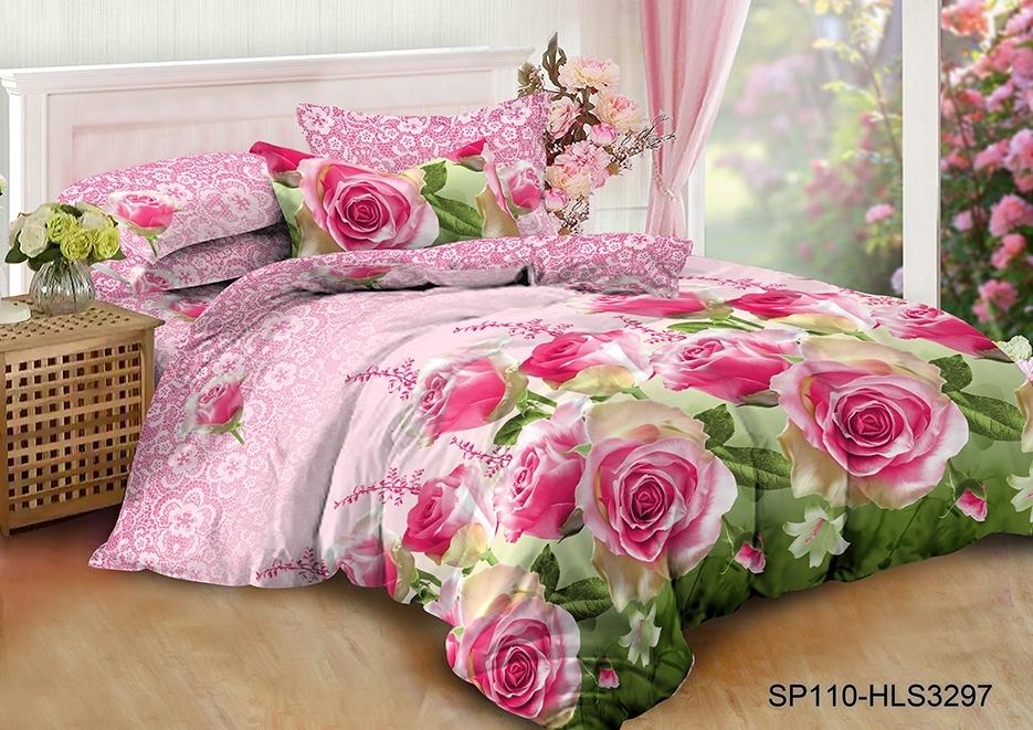 комплект постельного белья полисатин дпс-3297