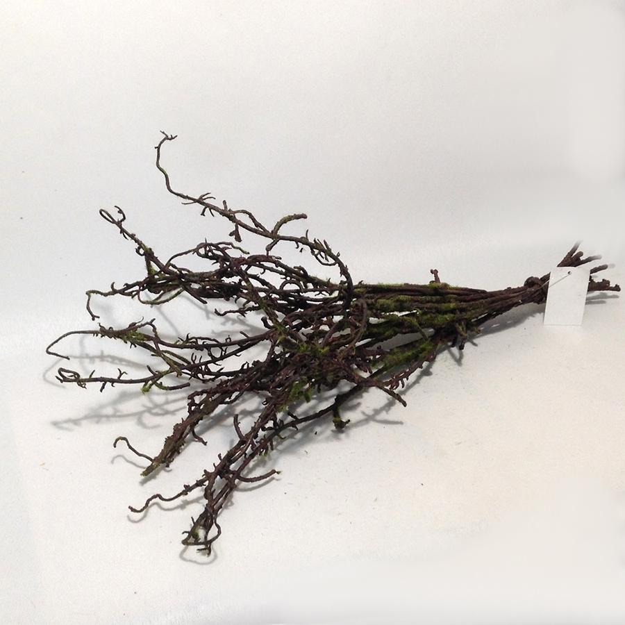Ветки искусственные во мху 50см -10шт