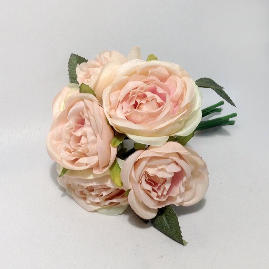 Букет шиповниковидной розы пудрово-розовый