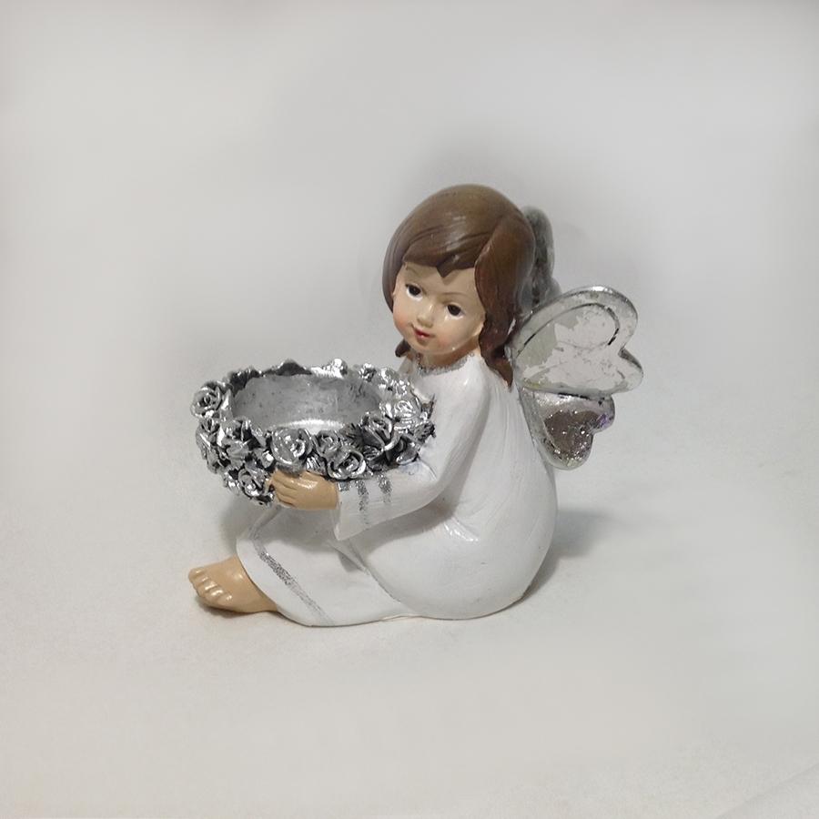 Фигурка ангела-подсвечник