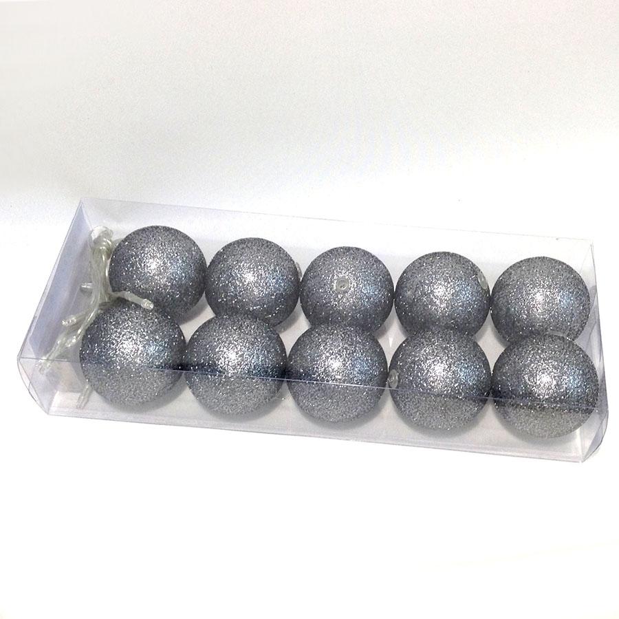 Фонарики на батарейках перламутровые-10шт- 140см графит