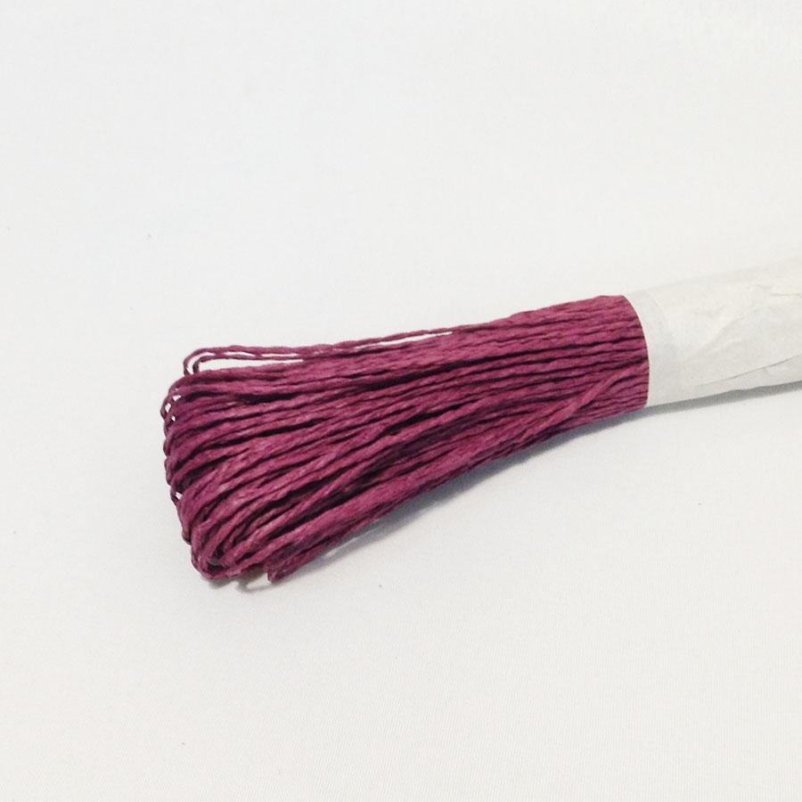 Шнур для декора бордовый 50м