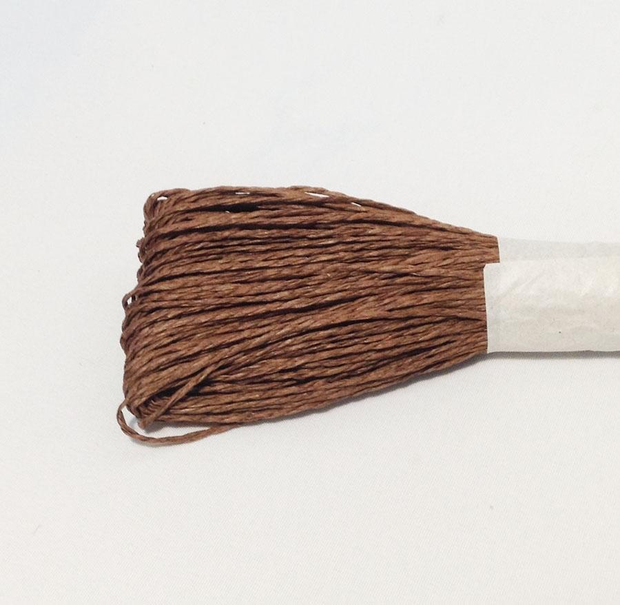 Шнур для декора коричневый 50м