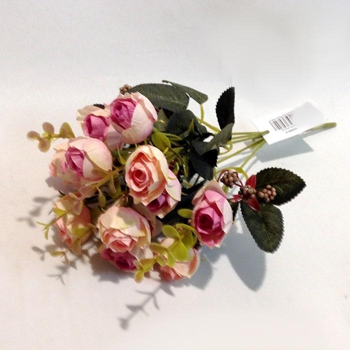Букет мелких розочек светло-розовый