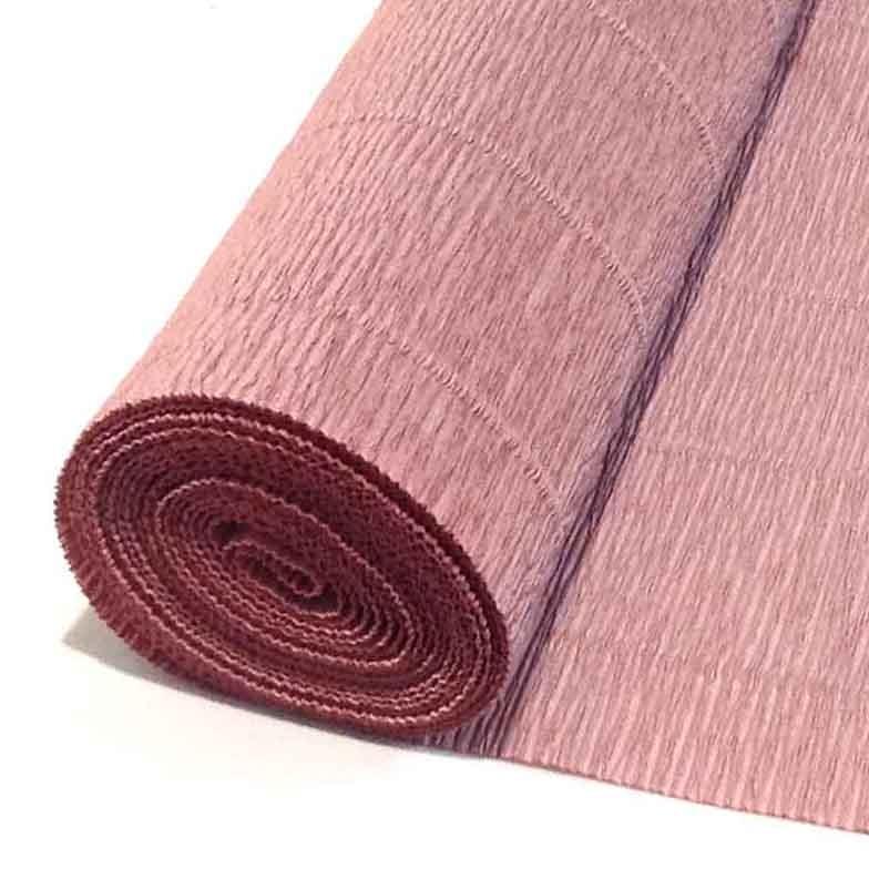 Бумага гофрированная цвет какао 613
