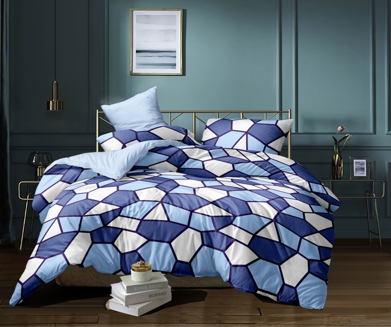 комплект постельного белья сатин ос-66-4