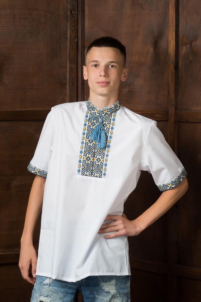 Мужская вышитая рубашка1