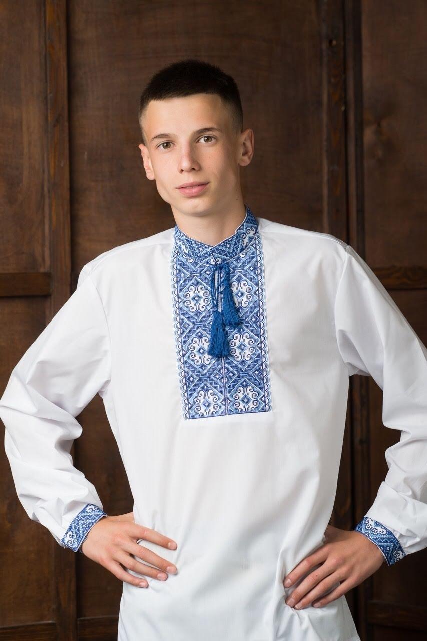 Мужская вышитая рубашка5