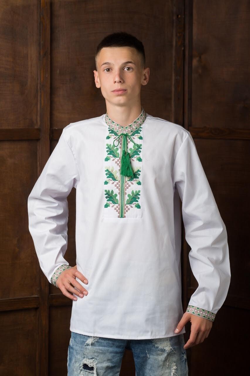 Мужская вышитая рубашка7