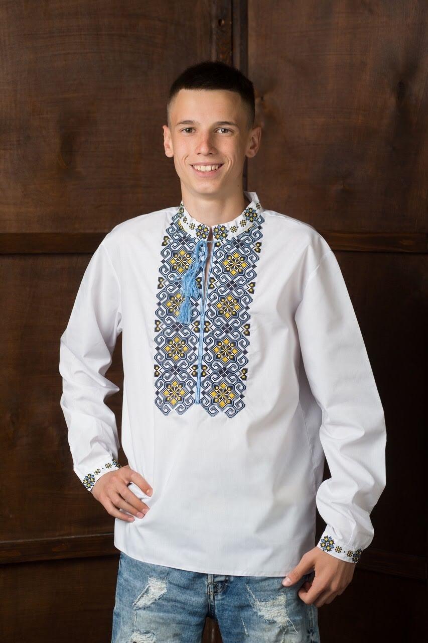 Подростковая рубашка-вышиванка7