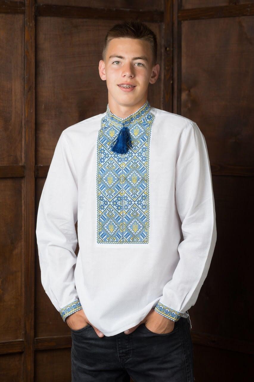 Вышитая подростковая рубашка5