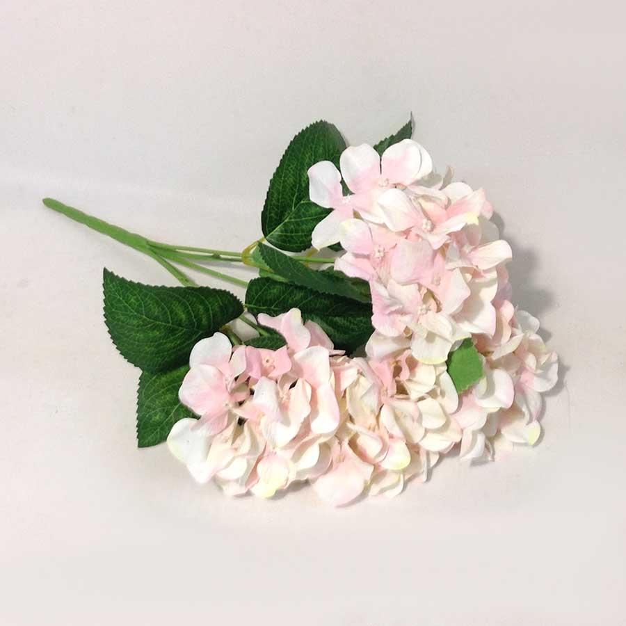 Букет гортензии 45см розовый
