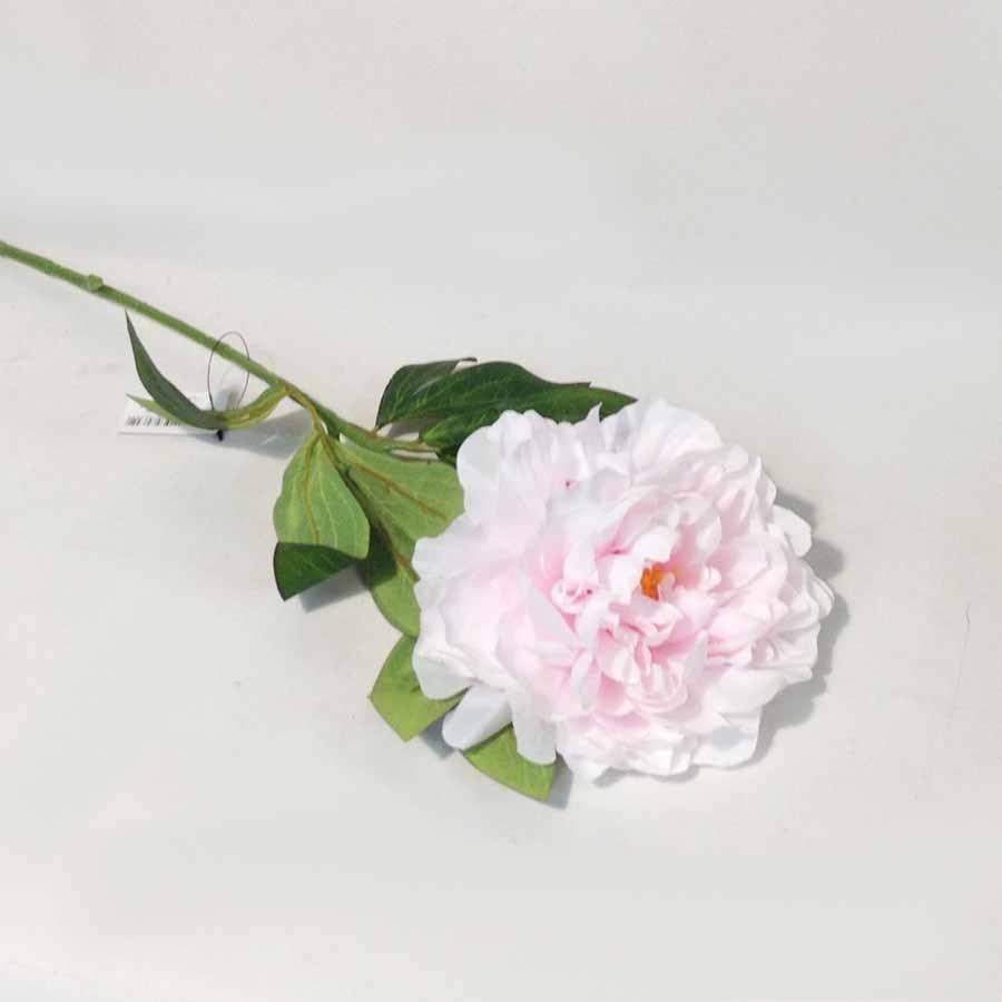 Ветка пиона светло-розовая 72см