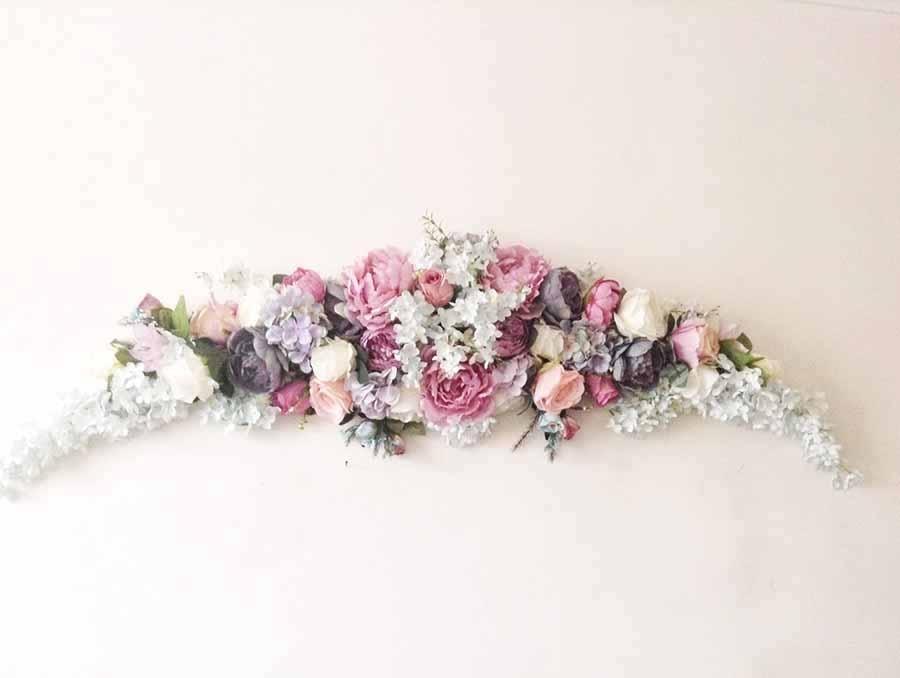Композиция цветочная для украшения свадебной церемонии 170см