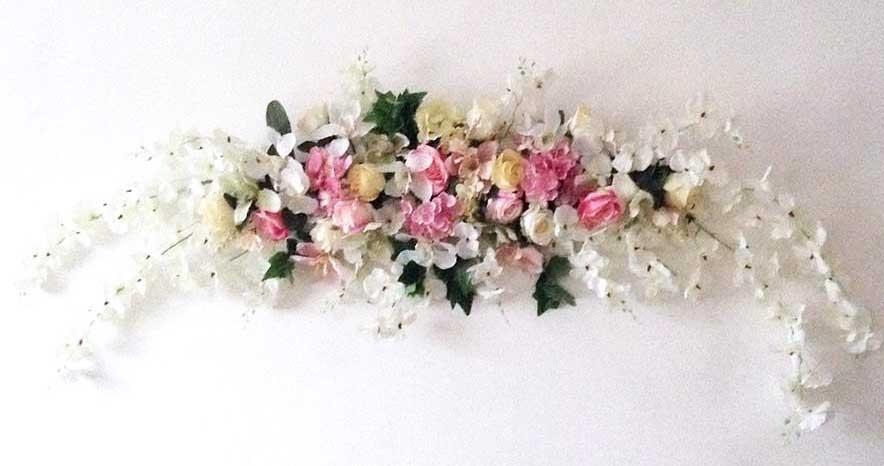Композиция цветочная для украшения свадебной церемонии 200см