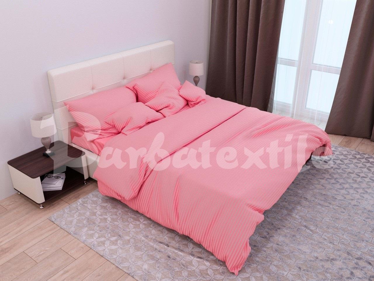комплект постельного белья страйп-сатин ЕСС-1640
