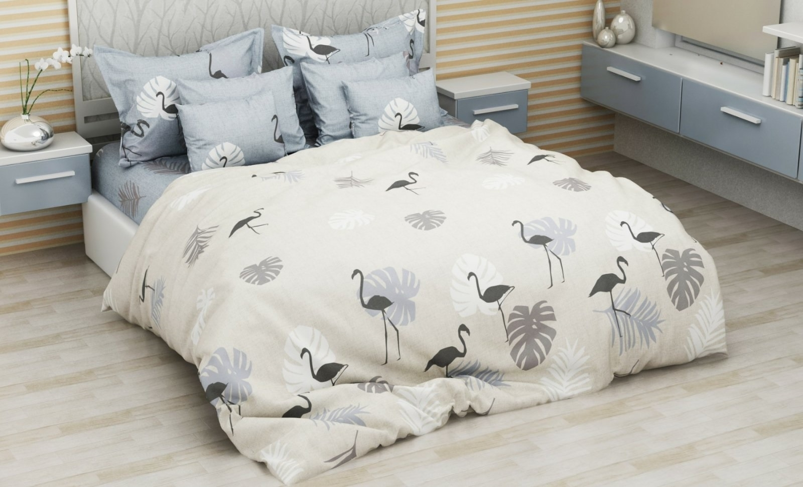 комплект постельного белья бязь еб-4151