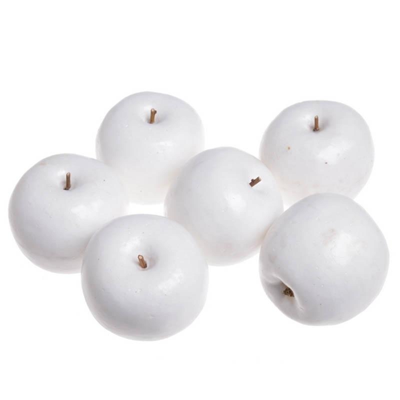 Яблоки белые крупные 6,5см - 6шт