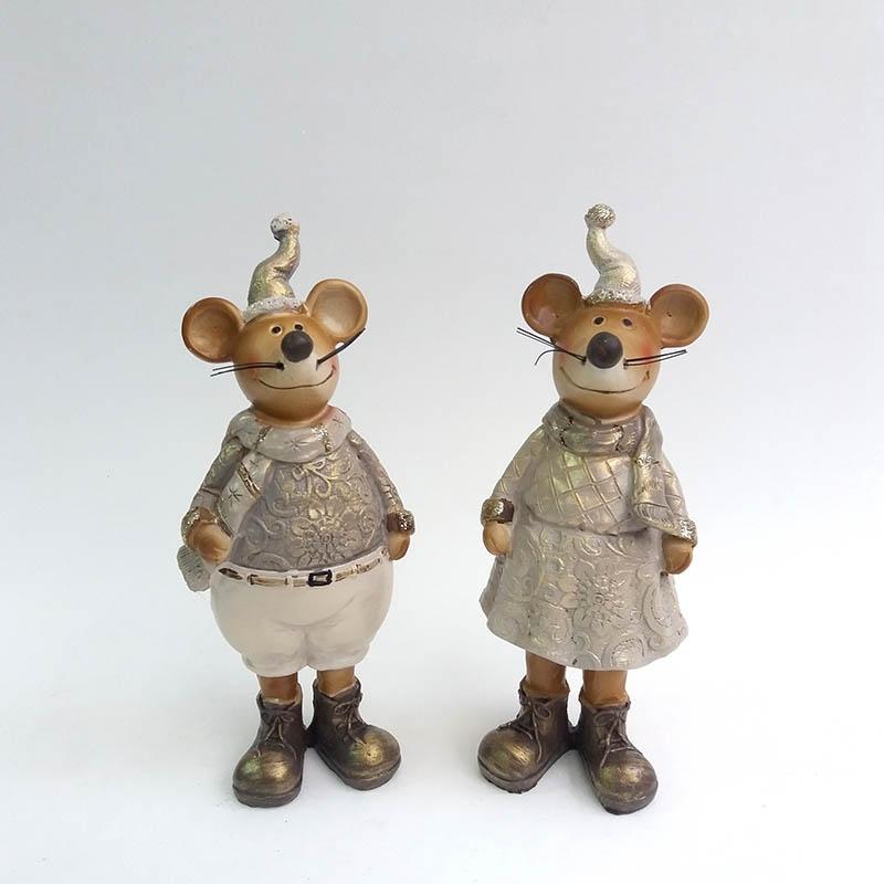 Фигурка Мышка 17см - 1шт