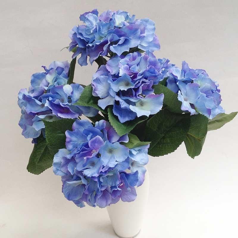 Букет гортензии синей