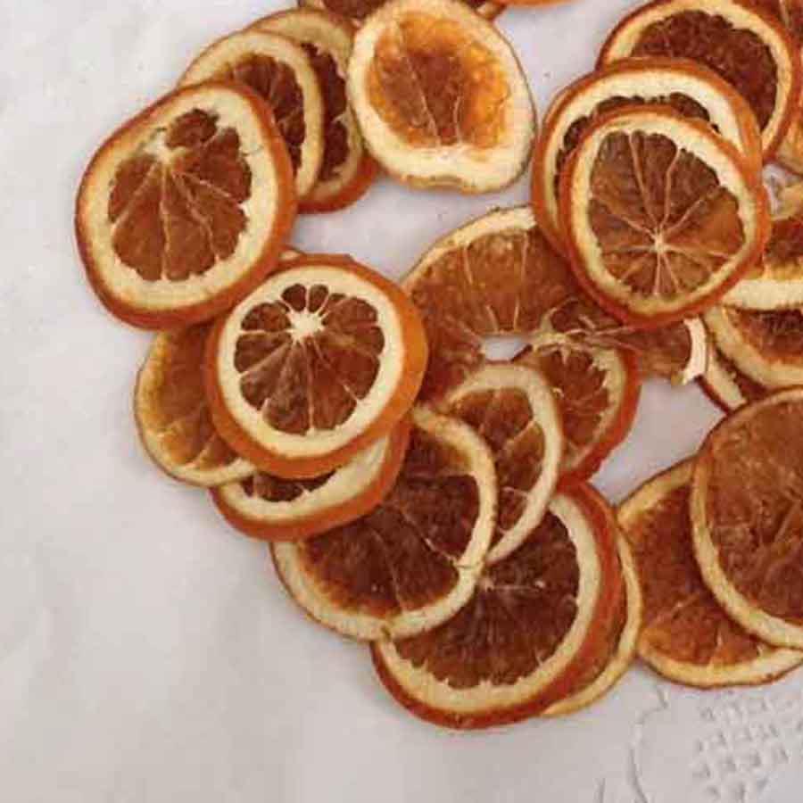 Апельсин натуральный сушеный 50 грамм