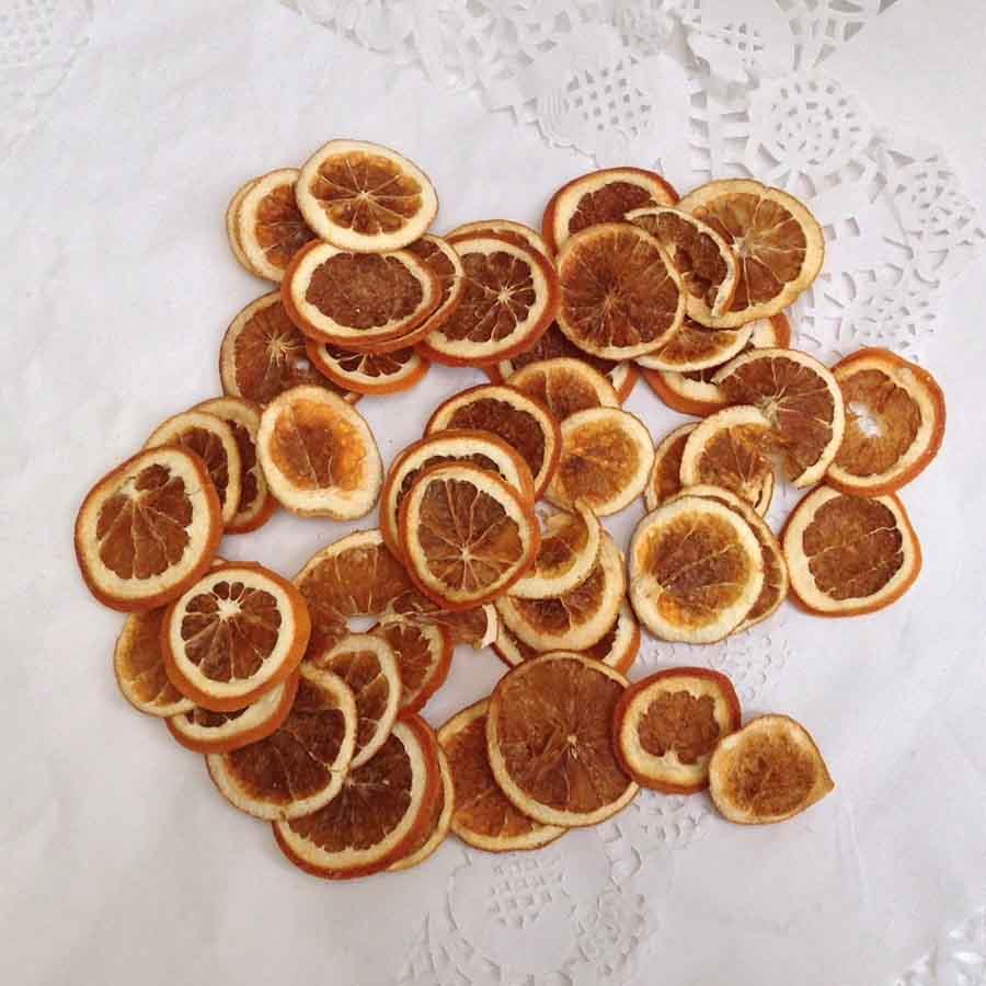 Апельсин натуральный сушеный 100 грамм