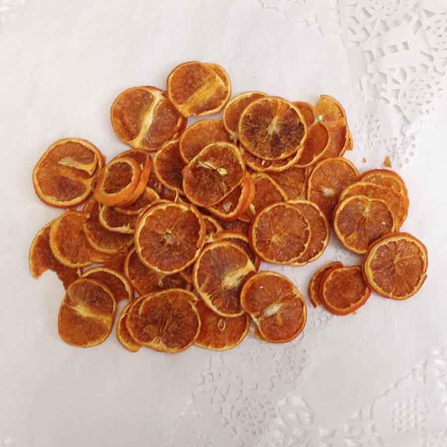 Мандарин натуральный сушеный 100 грамм