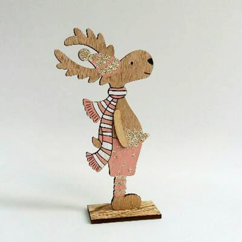 Фигурка деревянная 19 см