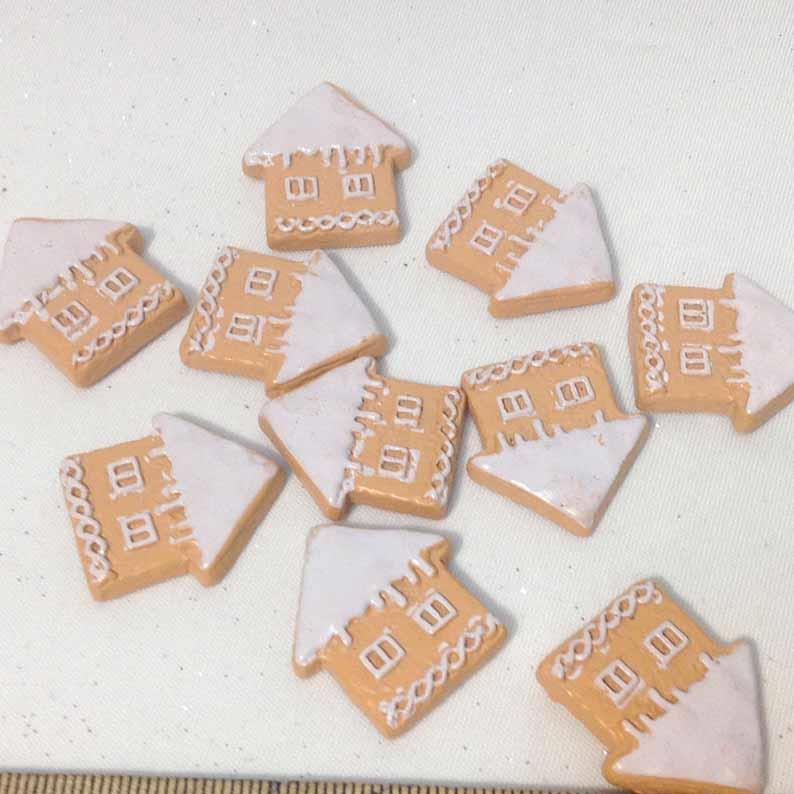 Декор Новогоднее печенье Домики