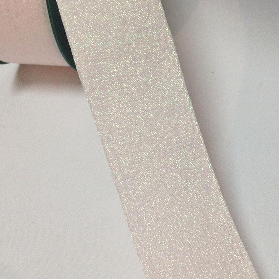 Лента тканевая с парчовой ниткой 3см - 1м - Изображение 2