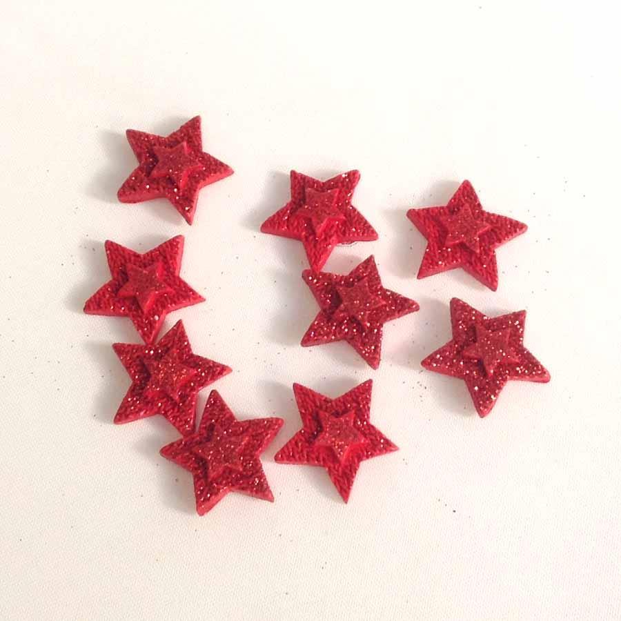 Набор керамических звездочек