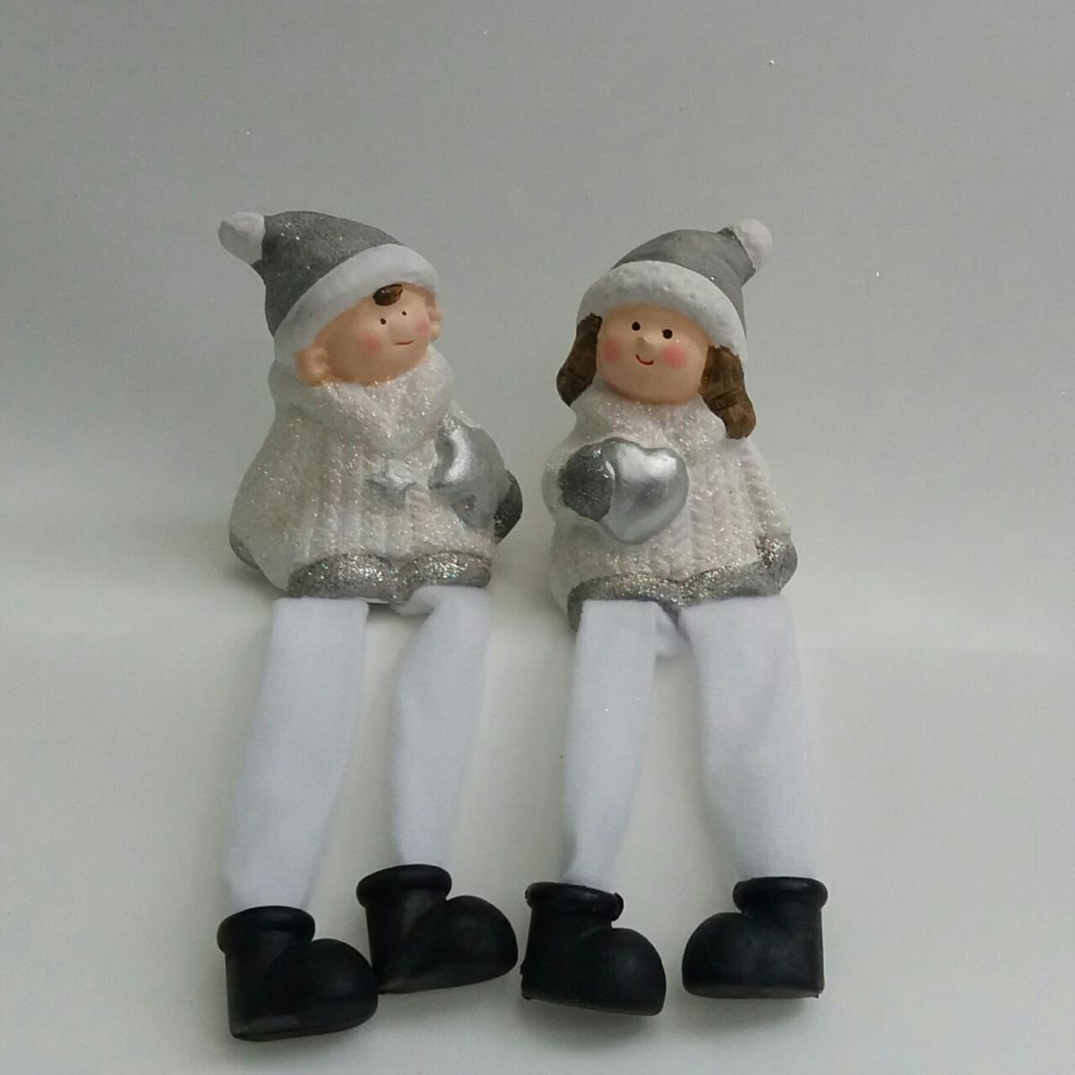 Фигурка деток со свисающими ножками 8см + 8см ножки