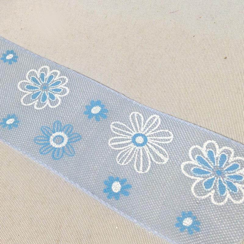 Лента декоративная серии Цветы 4см - 1м - Изображение 2